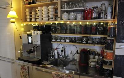 Бар, в котором самостоятельно можно заварить чай и сварить кофе
